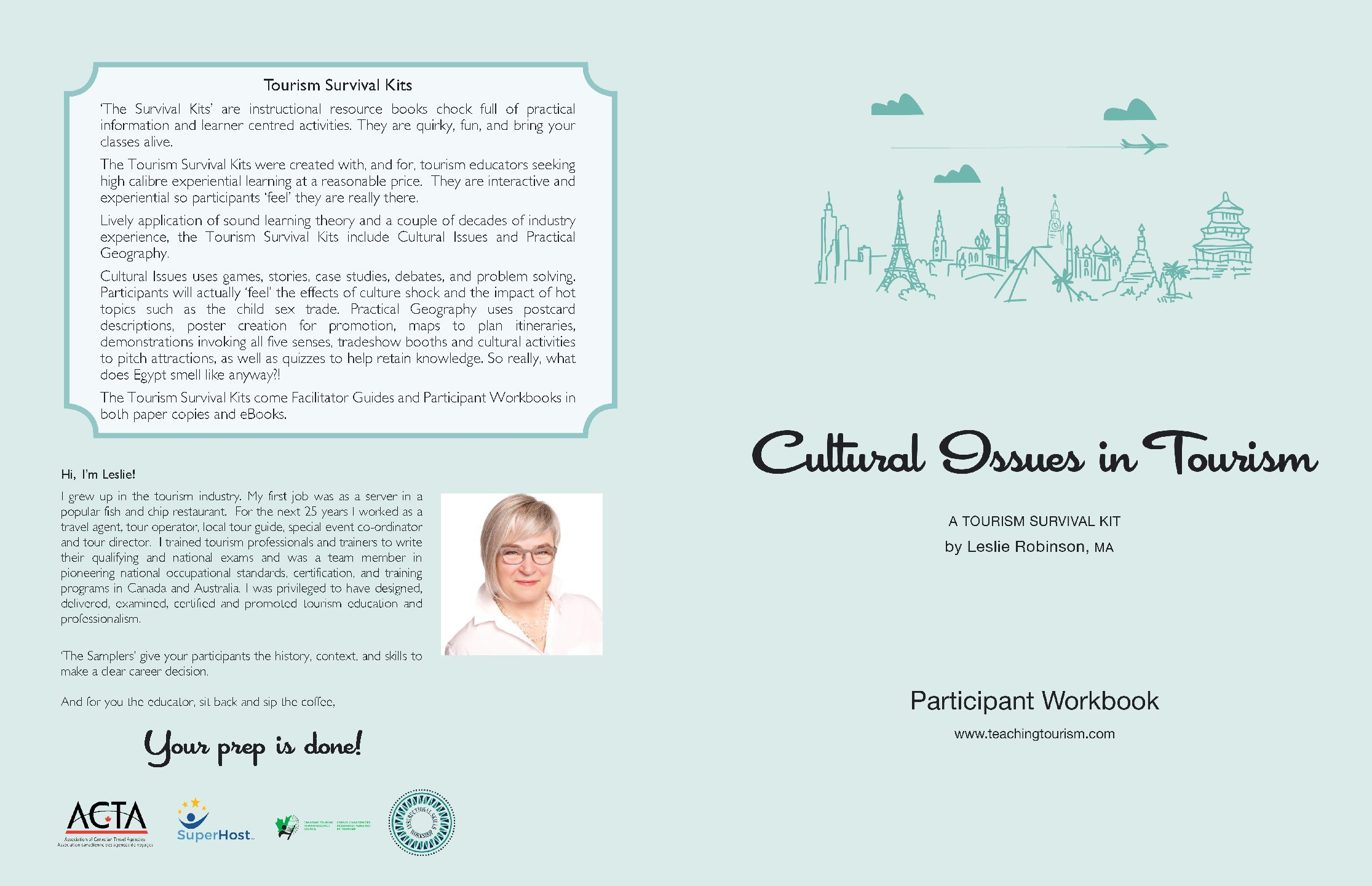 Cultural Issues in Tourism Survival Kit and Workbook